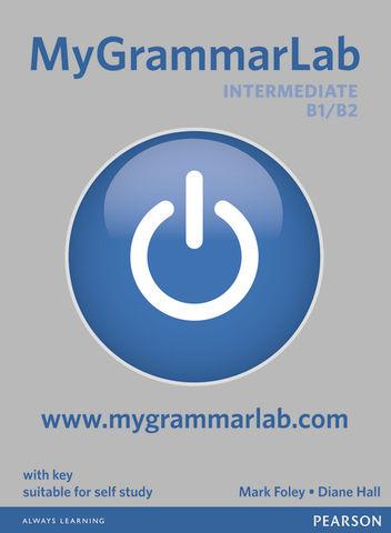 MY GRAMMARLAB INTERMEDIATE B1/B2 with key