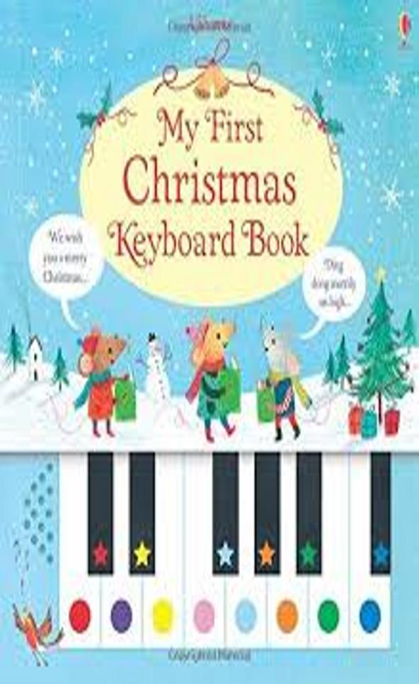 FIRST CHRISTMAS KEY BOARD BOOK