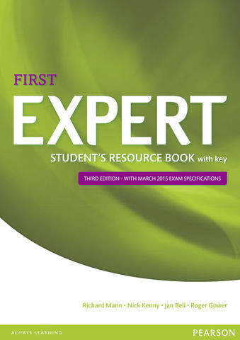 FIRST EXPERT (FCE) WB with Key 3rd Ed. Exam 2015