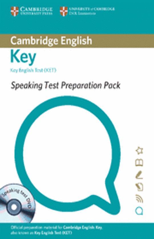 KET - Speaking Test Preparation Pack for