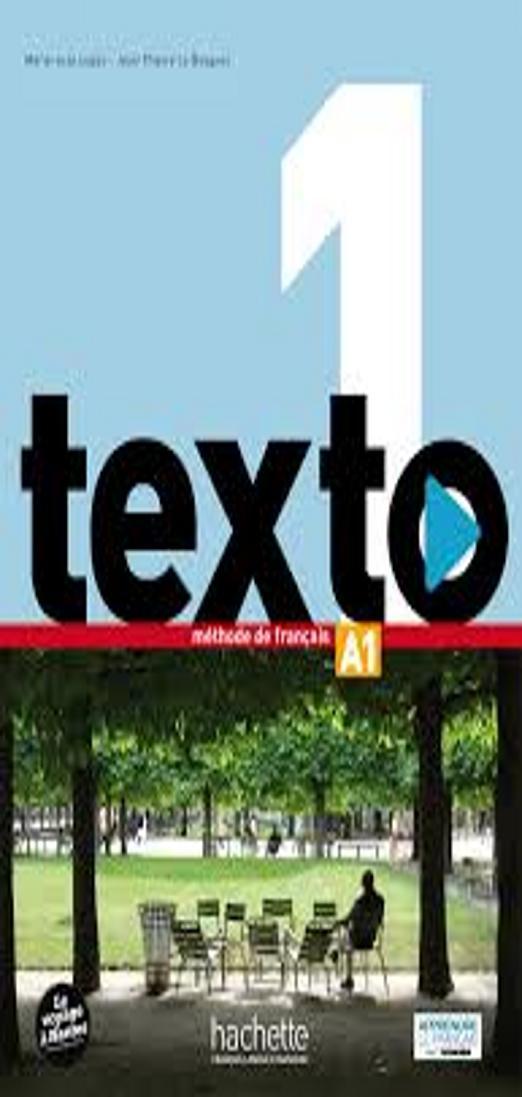 TEXTO 1 Livre + DVD ROM + Manuel Numérique