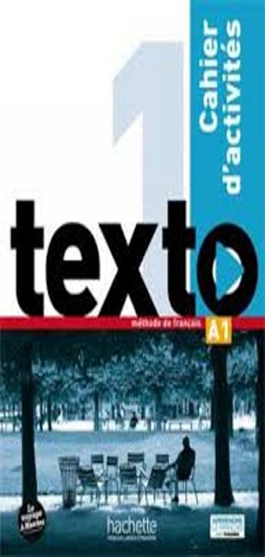 TEXTO 1 Cahier d´activités + DVD ROM