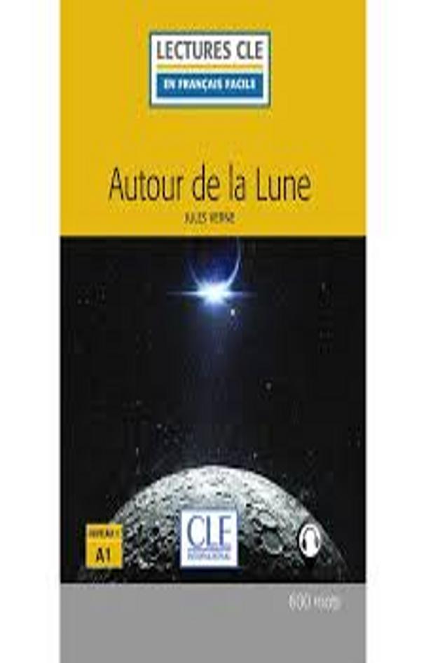 AUTOUR DE LA LUNE + CD - Lectures CLE 1