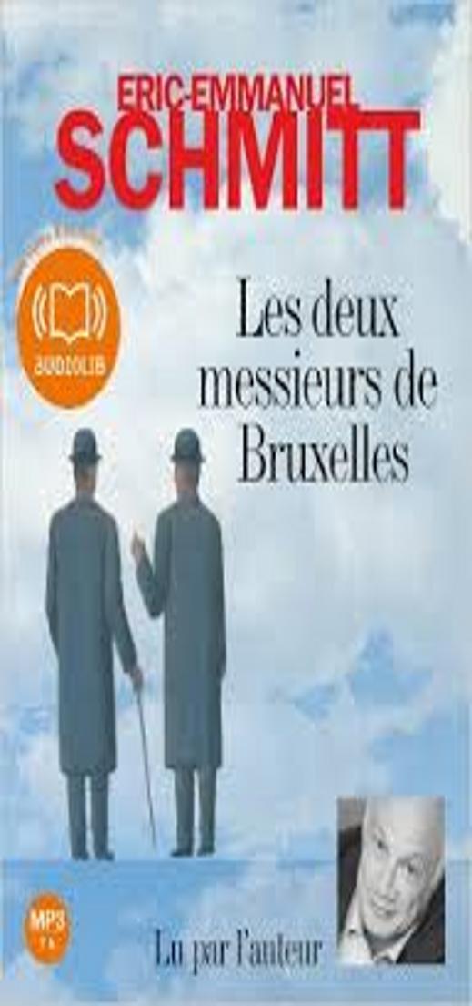 DEUX MESSIEURS DE BRUXELLES, LES - Audiolibro