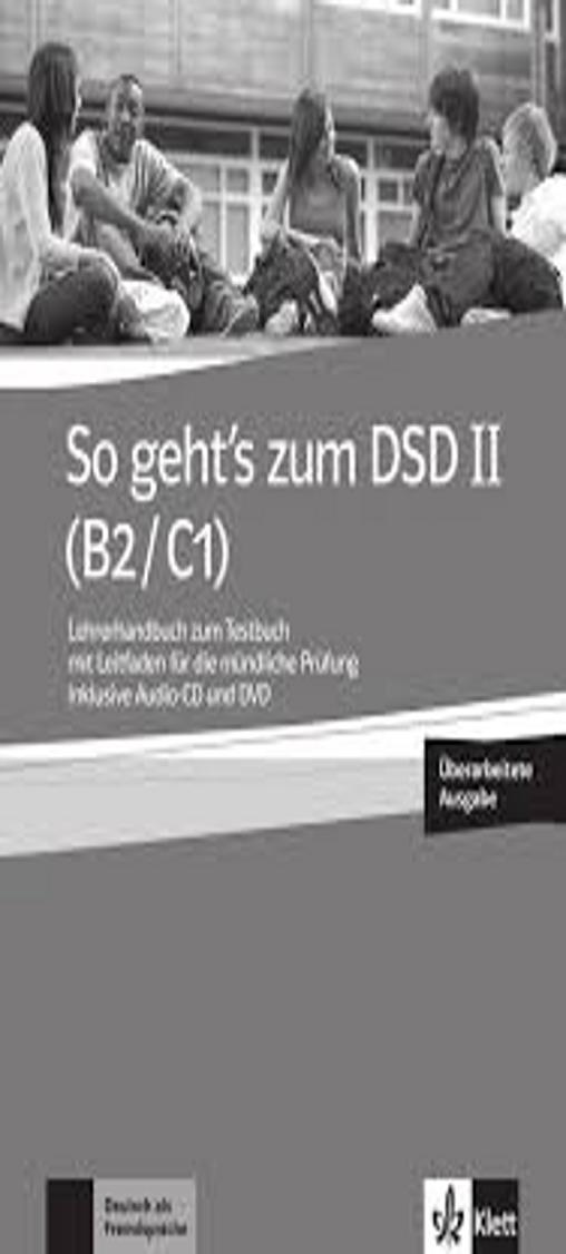 SO GEHT´S ZUM DSD II Lehrerhandbuch + DVD + CD B2 -C1