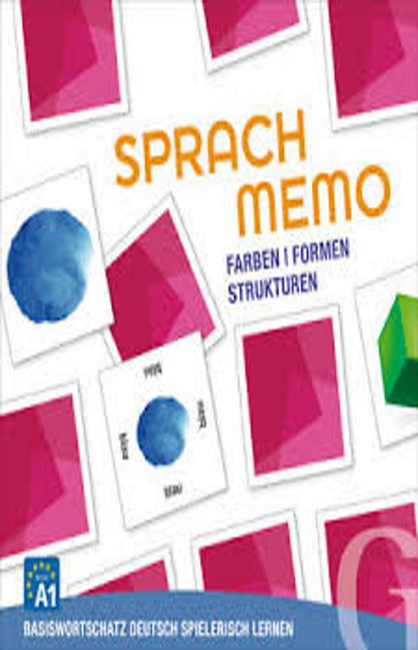 SPRACHMEMO DEUTSCH: FARBEN / FORMEN / STRUKTUREN