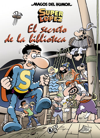 SUPERLOPEZ nº 199 el secreto de la biblioteca