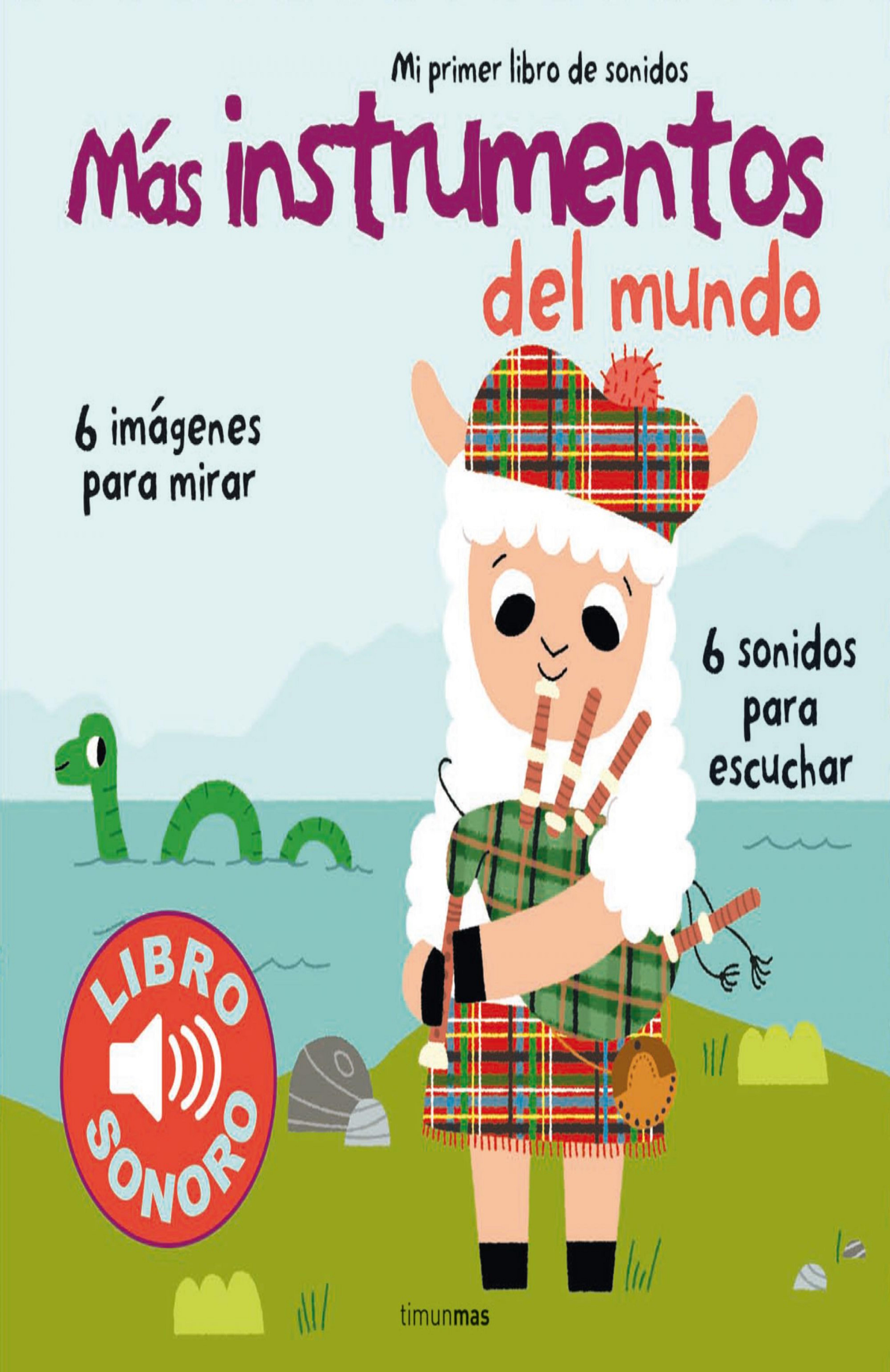 MÁS INSTRUMENTOS DEL MUNDO - Libro Sonoro