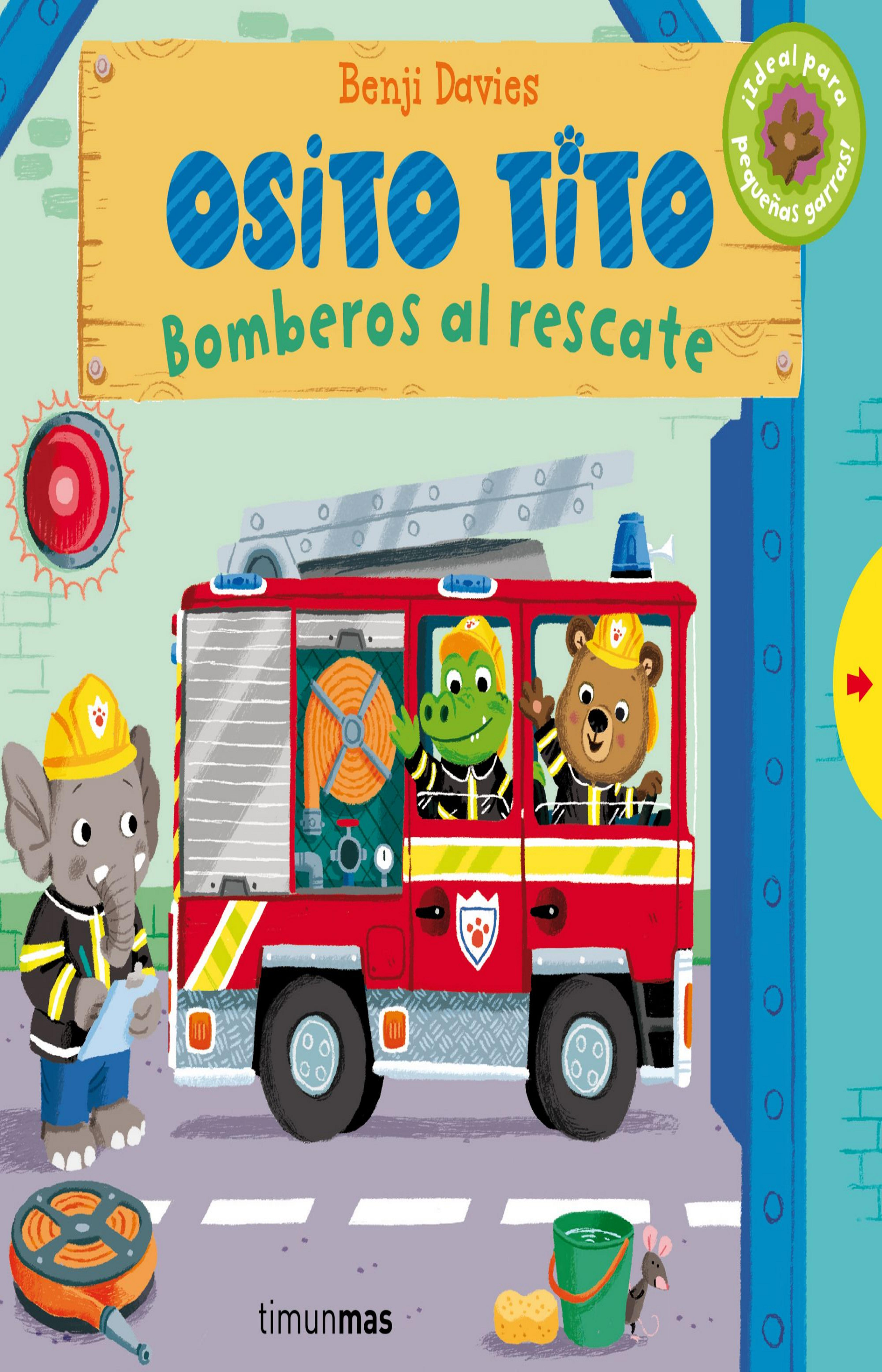 OSITO TITO: BOMBEROS AL RESCATE