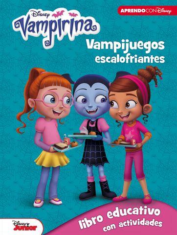 VAMPIRINA: VAMPIJUEGOS ESCALOFRIANTES(libro educativo con actividades)