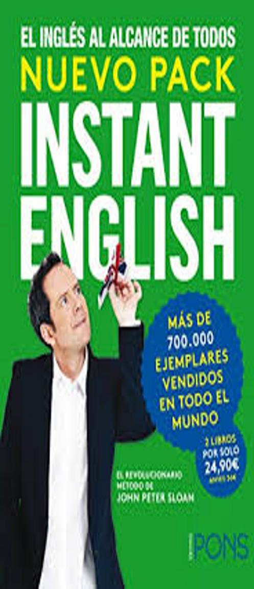 INSTANT ENGLISH NUEVO PACK -  Instant English + Instant English Plus