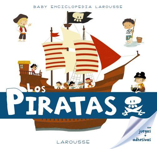 BABY ENCICLOPEDIA los piratas con juegos- adhesivos
