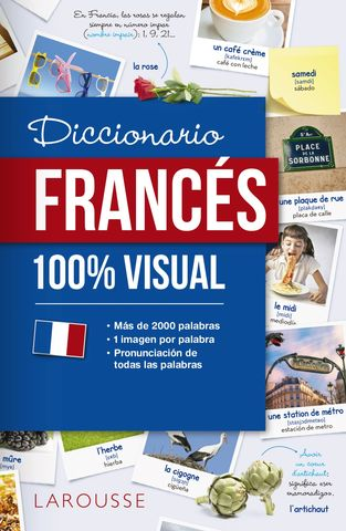 DICCIONARIO FRANCES 100%  VISUAL