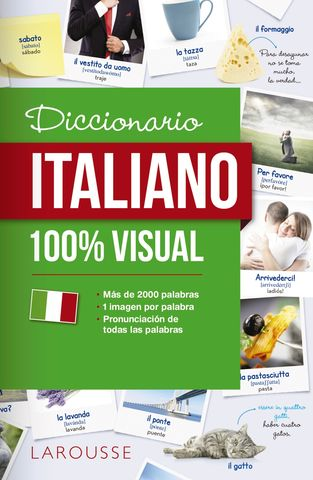 DICCIONARIO ITALIANO 100%  VISUAL