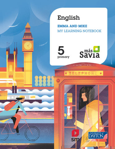 ENGLISH 5 WB - Más Savia  (Marai & William)