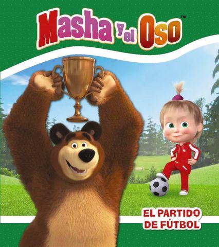 MASHA Y EL OSO el partido de futbol