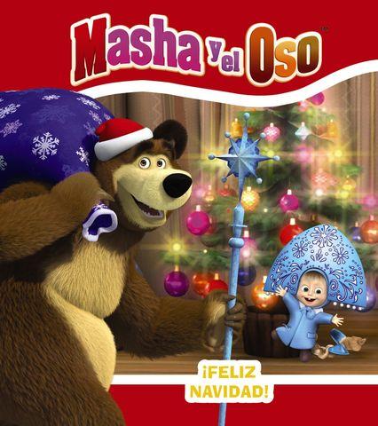 MASHA Y EL OSO ! feliz navidad ¡