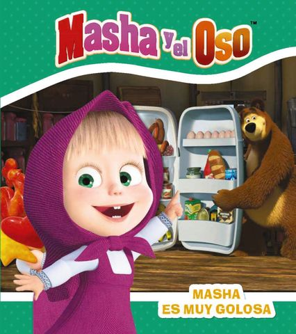 MASHA Y EL OSO masha es muy golosa