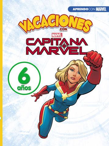 VACACIONES CON LOS VENGADORES. 6 AÑOS (APRENDO CON