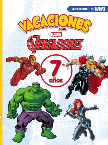 VACACIONES CON LOS VENGADORES. 7 AÑOS (APRENDO CON