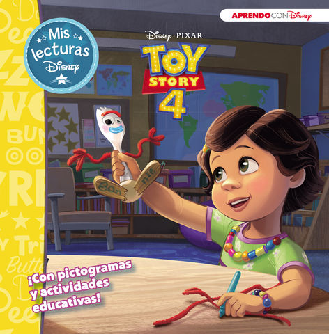 TOY STORY 4. MIS LECTURAS DISNEY.