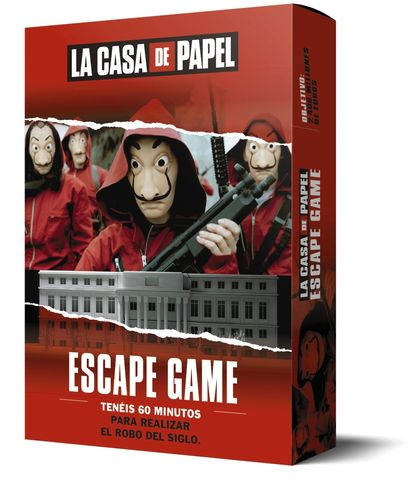 CASA DE PAPEL ESCAPE GAME, LA