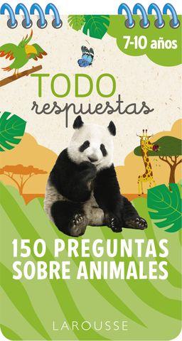 TODO RESPUESTAS 150 preguntas sobre animales 7-10 años