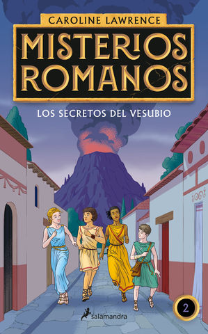 MISTERIOS ROMANOS Nº 2 los secretos del vesubio