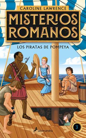 MISTERIOS ROMANOS Nº 3 los piratas de pompeya
