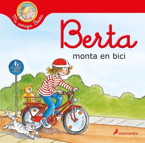 BERTA MONTA EN BICI (mi amiga berta )