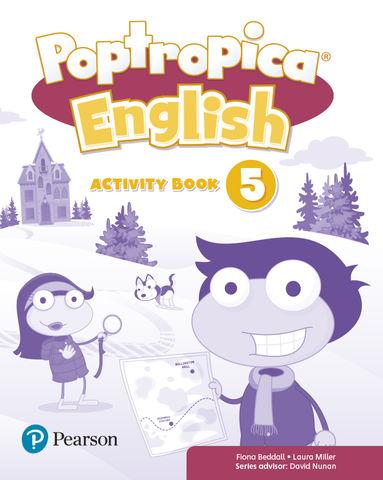 POPTROPICA 5 English  Activity  Book