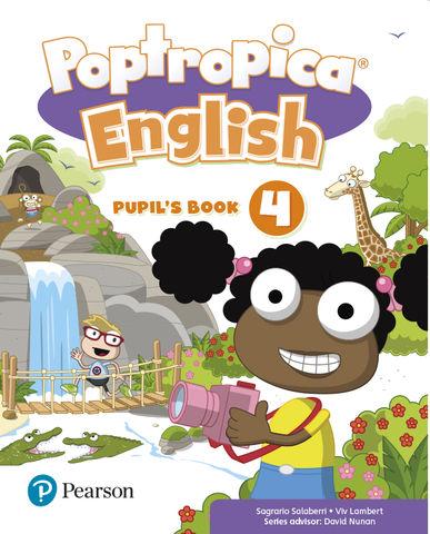 POPTROPICA 4 English Pupil´s Book