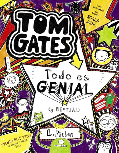 TOM GATES 5: TODO ES GENIAL (Y BESTIAL)