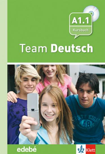 TEAM DEUTSCH A1.1 Kursbuch + CD