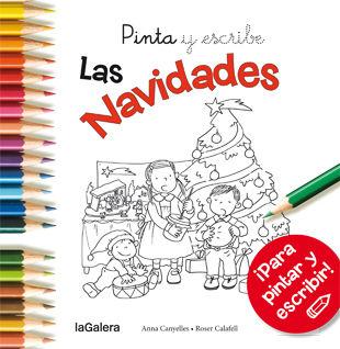 PINTA Y ESCRIBE LAS NAVIDADES