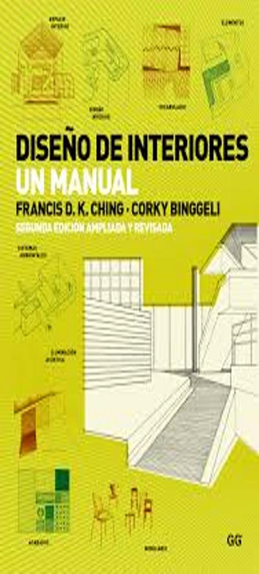 DISEÑO DE INTERIORES UN MANUAL