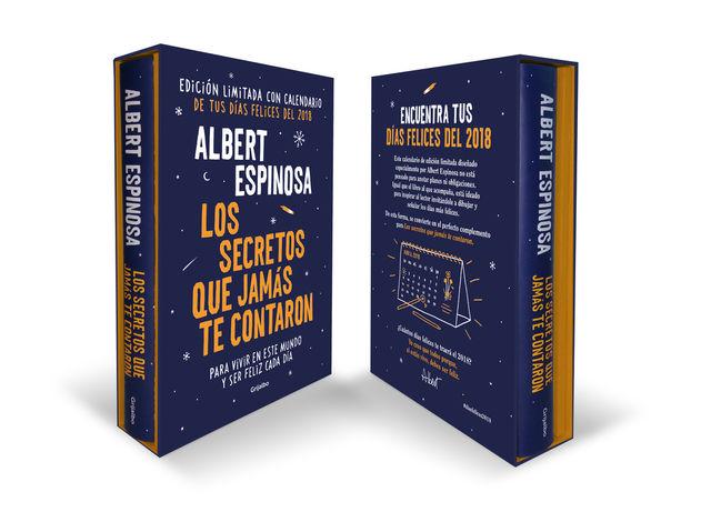SECRETOS QUE JAMÁS TE CONTARON, LOS Libro + Calendario Ed. Limitada