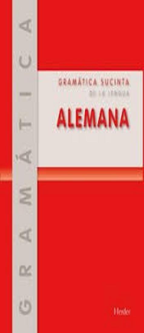 GRAMÁTICA SUCINTA ALEMANA + Soluciones