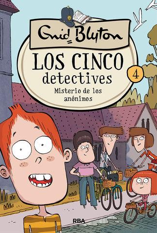 LOS 5 DETECTIIVES 4. MISTERIO DE LOS ANONIMOS