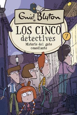 LOS 5 DETECTIVES nº7  MISTERIO DEL GATO COMEDIANTE