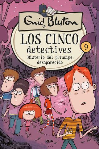 MISTERIO DEL PRNCIPE DESAPARECIDO LOS 5 DETECTIVES 9: