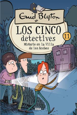 LOS CINCO DETECTIVES nº 11misterio en la villa de los acebos
