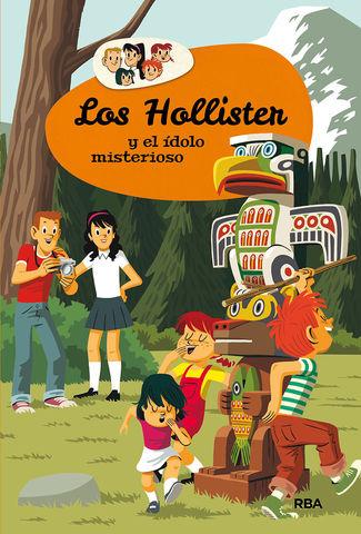 HOLLISTER Y EL ÍDOLO MISTERIOSO Nº5, LOS