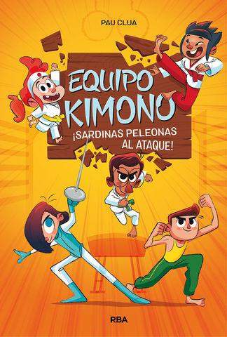 EQUIPO KIMONO Nº1 - SARDINAS PELEONAS AL ATAQUE