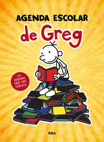 AGENDA ESCOLAR DE GREG N/E