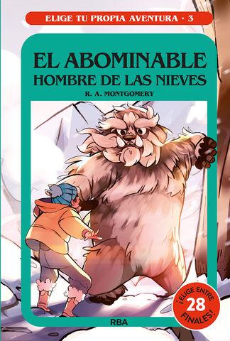 ABOMINABLE HOMBRE DE LAS NIEVES, EL - ELIGE TU PROPIA AVENTURA 3
