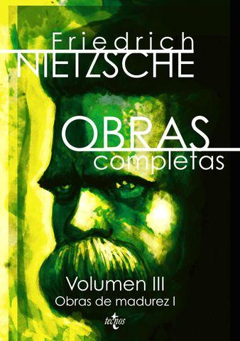 OBRAS COMPLETAS VOL III OBRAS DE MADUREZ I