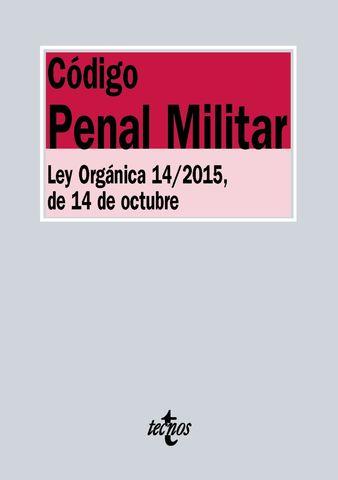 CODIGO PENAL MILITAR 2016