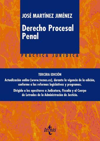 DERECHO PROCESAL PENAL 2019