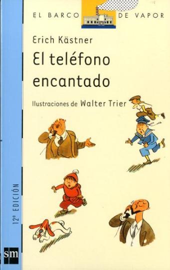 TELÉFONO ENCANTADO , EL - 89 Barco Vapor Azul